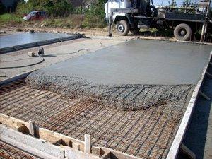 твердение бетонной смеси
